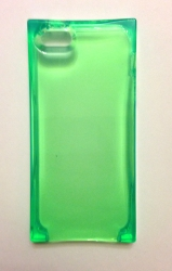 Чехол Льдинка для iPhone 5 зеленый