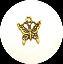 Шарм Бабочка золотая