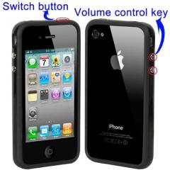 Бампер для iPhone 4 Черный