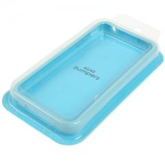 Бампер для iPhone 4S Голубой