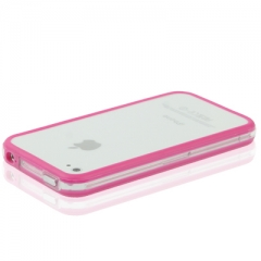 Бампер для iPhone 4S Сиреневый