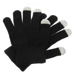 Перчатки для iPhone 4S черные