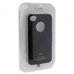 Чехол металлический для iPhone 4 черный