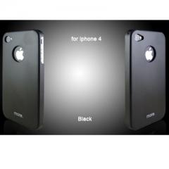 Чехол металлический для iPhone 4S черный