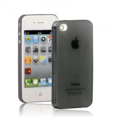 Чехол Ультратонкий для iPhone 4S черный