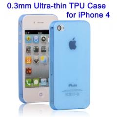 Ультратонкий чехол для iPhone 4S Синий