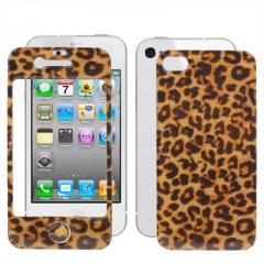 Защитная пленка для iPhone 4S Леопардовая
