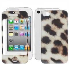 Защитная пленка Леопардовая для iPhone 4S
