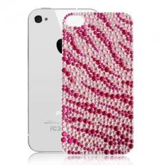 Пленка со стразами для iPhone 4