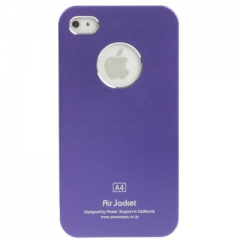 Чехол Air Jacket для iPhone 4S фиолетовый