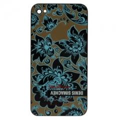 Сменная задняя крышка Denis Simachev для iPhone 4S, черная