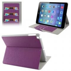 Чехол книжка для iPad Air фиолетовый