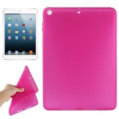 Чехол силиконовый для iPad Air малиновый
