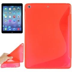 Чехол силиконовый Волна для iPad Air красный