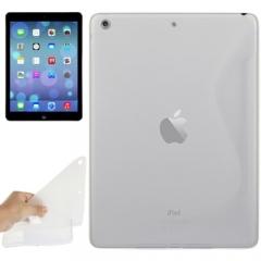 Чехол силиконовый Волна для iPad Air белый