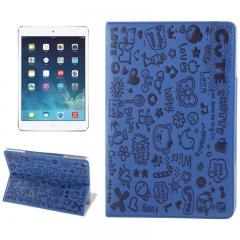 Чехол Зверюшки для iPad Air синий