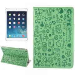 Чехол Зверюшки для iPad Air салатовый
