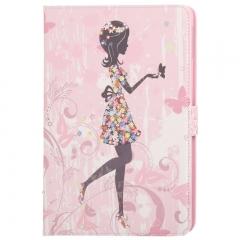 Чехол Девушка для iPad 5 Air со стразами