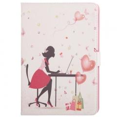 Чехол Девушка со стразами для iPad 5 Air