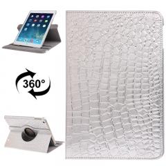 Чехол для iPad Air змеиный серебряный