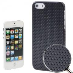 Чехол перфорированный для iPhone 5S черный