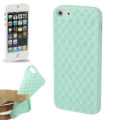Чехол силиконовый для iPhone 5 матовый мятный