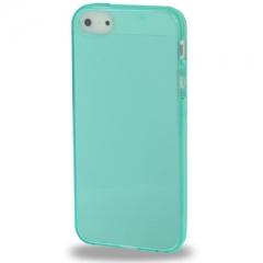 Чехол силиконовый для iPhone 5 бирюзовый