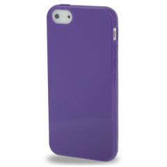 Чехол силиконовый для iPhone 5 фиолетовый