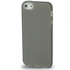 Силиконовый чехол для iPhone 5S черный матовый