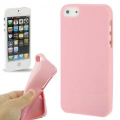 Чехол силиконовый для iPhone 5 розовый