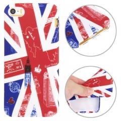 Силиконовый чехол Лондон для iPhone 5S