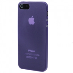 Ультратонкий чехол для iPhone 5 фиолетовый