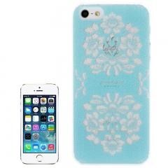 Чехол для iPhone 5 Голубой узор