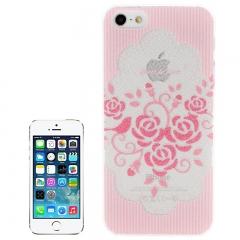 Чехол для iPhone 5 Розовые цветочки
