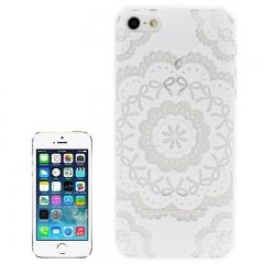 Чехол для iPhone 5 Белый узор
