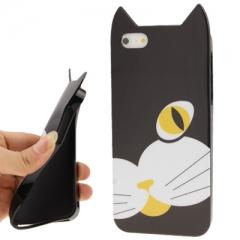 Чехол Кошка для iPhone 5