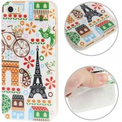 Чехол силиконовый Париж для iPhone 5