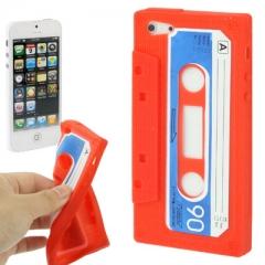 Чехол Кассета для iPhone 5 красный