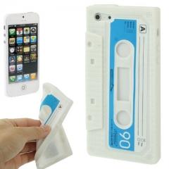Чехол Кассета для iPhone 5 белый