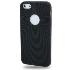 Чехол силиконовый для iPhone 5 черный