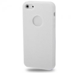 Чехол силиконовый для iPhone 5S белый