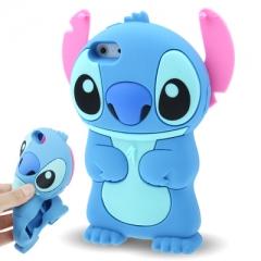 Чехол Стич для iPhone 5 голубой