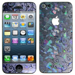 Защитная пленка с узором для iPhone 5