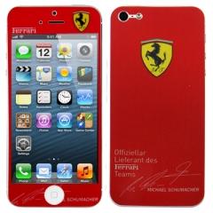 Защитная пленка Ferrari для iPhone 5S