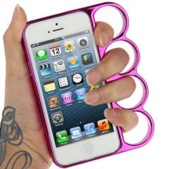 Чехол Кастет для iPhone 5 малиновый