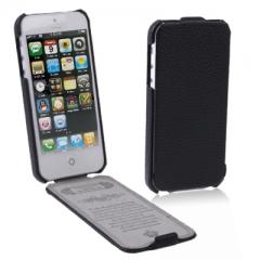Чехол-книжка для iPhone 5S черный