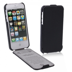Чехол-книжка для iPhone 5 черный