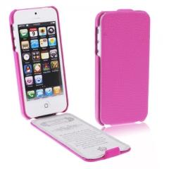 Чехол-книжка для iPhone 5S розовый