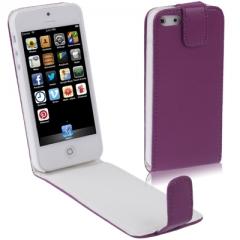 Чехол - книжка для iPhone 5S фиолетовый