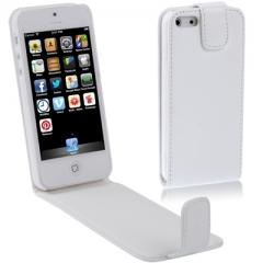 Чехол книжка для iPhone 5S белый